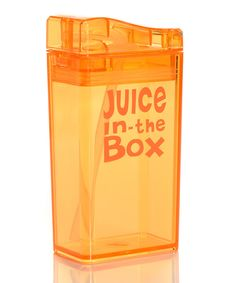 Look what I found on #zulily! Drink in the Box Orange Juice Box by Drink in the Box #zulilyfinds