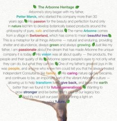 The Arbonne Heritage <3