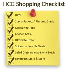 Get the best HCG shopping list here... super helpful! www.diyhcg.com
