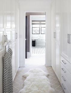 Walk Through Closet Design Ideas, Pictures, Remodel and Decor Master Bedroom Closet, Bathroom Closet, Master Bedrooms, Master Suite, Bedroom Closets, Master Bathroom, Ikea Bathroom, Bathroom Small, Walk In Closet Design