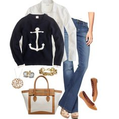 anchor + dots - Polyvore