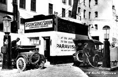 1920-System Service Station in Los Angeles