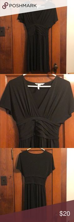 """SALE! BCBG Black Cocktail Dress Only used once for a sorority event! Great condition. Short black dress. Perfect for any occasion, you can make it casual or formal. I am 5'2"""". MAKE AN OFFER! Pageant Formal Party Cocktail BCBGeneration Dresses"""