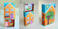 MollyMoo – crafts for kids and their parents Matchbox Houses For Fairies