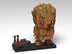 Groot & Detonator BrickHeadz MOC | by headzsets