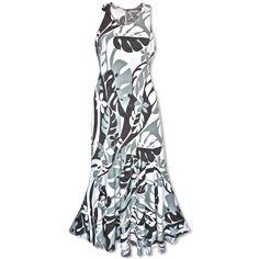 Jazz Silver Lehua Hawaiian Dress
