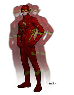 Wally West Flash Redesign by Thomas Branch