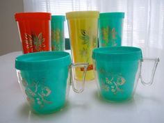 Vintage insulated tumblers and mugs by GOTHAMWARE Ideal for hot or cold liquids. on Etsy $19