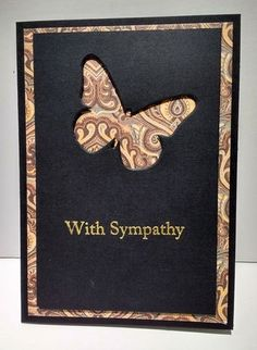 Perfect Allusion Sympathy Card | Craft Inspiration