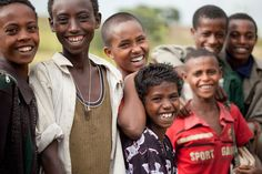 The kids at Galay Primary School in Amhara, Ethiopia, use a charity: water well each day to not only drink and wash their hands, but also water their small garden of peppers and other vegetables.