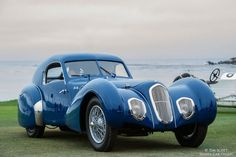 1939 Talbot-Lago T150C-SS Pourtout Coupe -