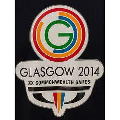 Buy Glasgow Commonwealth Games 2014 Men's Logo T-Shirt, Navy Online at johnlewis.com
