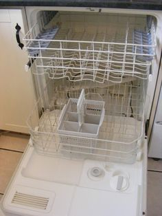 How To Clean Your Dishwasher (without gagging too much)