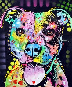 Shop for pitbull art from the world's greatest living artists. All pitbull artwork ships within 48 hours and includes a money-back guarantee. Choose your favorite pitbull designs and purchase them as wall art, home decor, phone cases, tote bags, and more! Pitbull Terrier, Dogs Pitbull, Pit Bull Love, Pit Bull Art, Diamond Art, 5d Diamond Painting, Arte Pop, Dog Paintings, Dog Art
