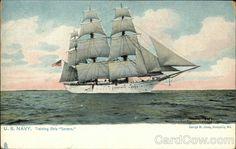 "US Navy, Training Ship ""Severn"""