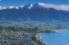 Kaikoura, New Zealand.  What a great town.  Can't tell you how many times I passed through it.