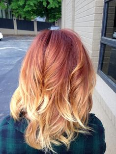 F I R E colormelt @andreagreenhill_hair