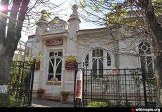 """В этом особняке, построенном около 1900 года, находится театр-музей """"Благодать"""".  http://www.tmblagodat.ru Тел. +7 (87937) 6-70-47"""