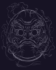 Daruma Tattoo on Behance