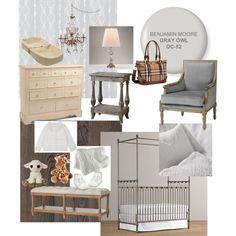 Elegant baby room!