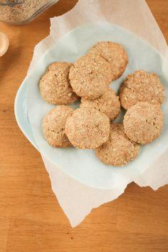 Biscuits+légers+à+l'avoine+et+son+de+blé