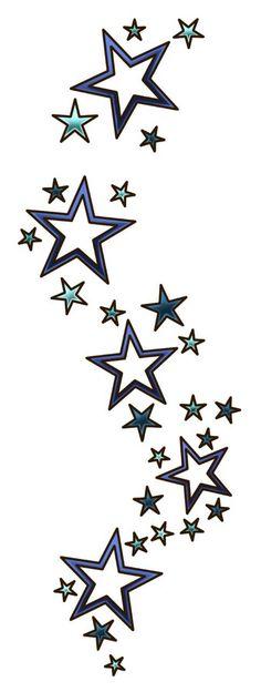 Tattoo Frauen Handgelenk Sterne 34 Ideas For 2019 Star Tattoo Designs, Tattoo Designs For Women, Star Designs, Trendy Tattoos, Tattoos For Guys, Cool Tattoos, Star Tattoos For Men, Side Thigh Tattoos Women, Leg Tattoos