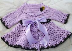 Crochet Victorian Jacket - Free Pattern (Crochet For Children)