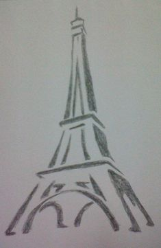 nice easy drawings pencil drawing simple cool sketches creative sketch result eiffel tower