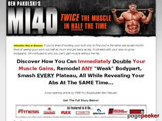 MI40x Review of MI40x Muscle Building Program by Ben Pakulski: http://reviews1.info/mi40x-review-of-mi40x-muscle-building-program-by-ben-pakulski/
