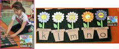 Blooming Beginning Sounds Literacy Center