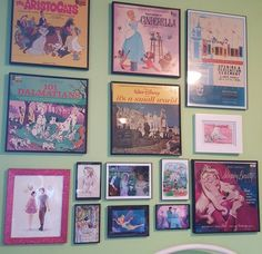Yes! For my Disney gallery wall! I need more Disney records tho