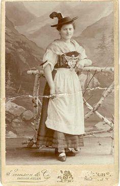 postcard national costumes bavaria - Google-Suche
