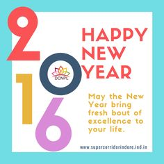May this #NewYear all your dreams turn into reality & all your efforts into great achievements.#HappyNewYear #SuperCorridor #Indore