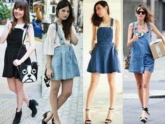 salopete, jardineira, macacão, saia, looks, como usar, moda, verão 2014, dicas