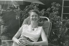 Sylvia Plath, 1956.