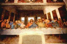 The Last Supper by Leonardo da Vinci 1498 in Convent of Santa Maria delle Grazie in Milan' Italy
