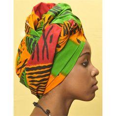 Tie African Head Wraps   Reversible African Head Wrap