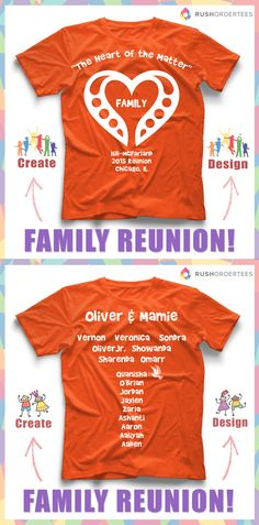 love this family reunion custom t shirt design idea create and design custom shirts