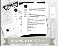 Need a professional package that will help you stand out? The Gabrielle Chanel design is for you. This package is modern, professional, and