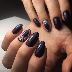 #luxio_abyss и геометрия для моей @zatynaichenko_nails 💜#vasilkevich_v