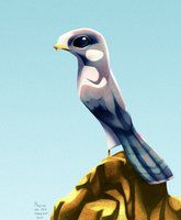 Daily Design: Peregrine Falcon by ~sketchinthoughts on deviantART