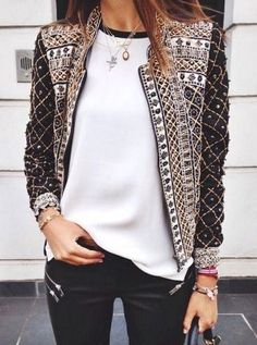 #fall #fashion / not your ordinary jacket