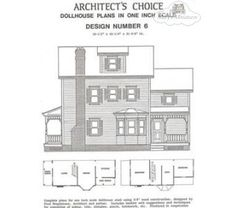 Dollhouse Plan #6