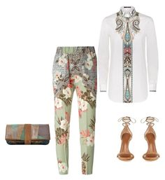 """""""Flowers and squares"""" by cherrypie13 ❤ liked on Polyvore featuring Etro"""