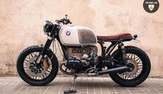 Bmw R100 Brat Style Panda by The Bike Lab