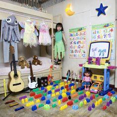 ¿Que tal analizar con los niños estas imágenes y pedirles  que se hagan una foto con sus juguetes? #pedagogiamovil