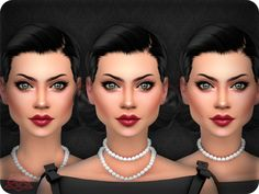 3 different positions, 2 colors each position Found in TSR Category 'Sims 4 Female Necklaces'