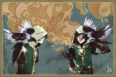 Journey Into Mystery's Loki fanart by Joana Estep.