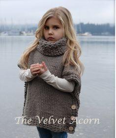 Knitting Pattern - Azel Pullover (2, 3/4, 5/7, 8/10, 11/13, 14/16, S/M, L/XL…