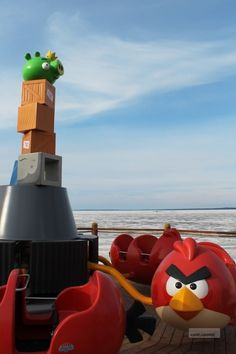 """Angry Birds Land, el primer parque de atracciones con los """"Pajaritos"""" com protagonistas... Tiembla Warner & Disney"""